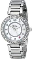 Juicy Couture Women's 1901150 Luxe Couture Analog Display Quartz Watch