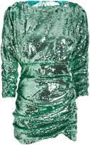 For Love & Lemons Marais Sequin-Embellished Mini Dress