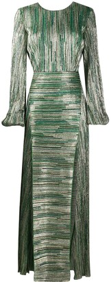 Rotate by Birger Christensen Lisa striped dress