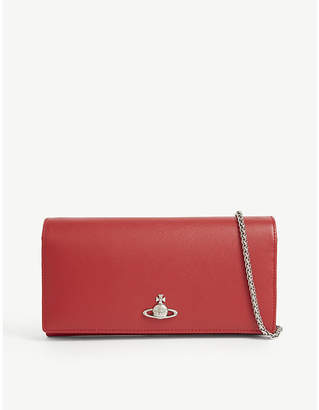 Vivienne Westwood Pimlico leather wallet-on-chain
