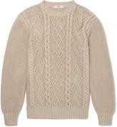 Inis Meáin - Organic Pima Cotton Aran Sweater