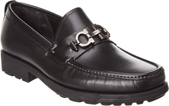 Salvatore Ferragamo David Leather Loafer