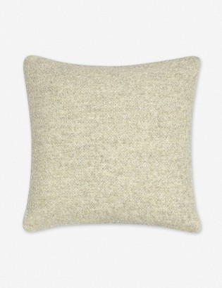 Lulu & Georgia Manon Linen Boucle Pillow, Oatmeal