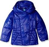 Tommy Hilfiger Girls' Pillow Collar Promo Puffer Jacket with Belt