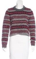 Rag & Bone Fair Isle Crew Neck Sweater