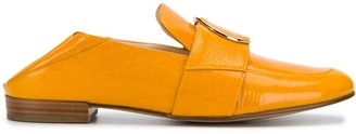 Högl Buckle Panelled Loafers