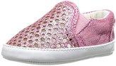 Stuart Weitzman Baby Vance Slider Gore Infant Slip On Sneaker (Infant/Toddler)