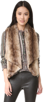 BB Dakota Jack by Julius Faux Fur Vest