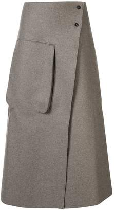 Studio Nicholson Hiro flared midi skirt