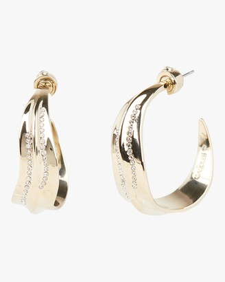 Carolee Iris Hoop Earrings