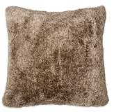 DKNY Loft Stripe Faux Fur Decorative Pillow, 16 x 16
