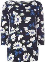 Dorothy Perkins **Tall Navy floral tee