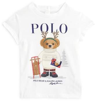 Ralph Lauren Christmas Polo Bear T-Shirt