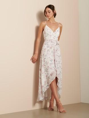 Ever New Lea Pleated Wrap Dress