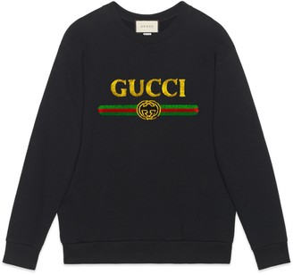 Gucci Oversize sweatshirt with logo