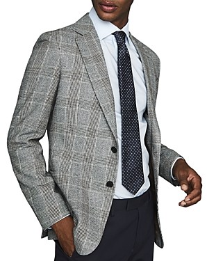 Reiss Cob Slim-Fit Plaid Blazer
