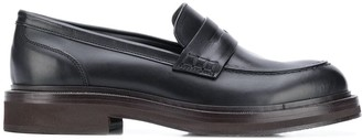 Brunello Cucinelli Chunky Penny Loafers