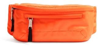 Prada Logo Nylon Belt Bag - Mens - Orange