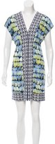 Ali Ro Printed Mini Dress w/ Tags
