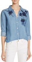 Rails Embroidered Claudette Shirt - 100% Exclusive