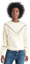 Sole Society Fringe Sweatshirt