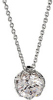 Nadri Classic Rhodium and Cubic Zirconia Pendant Necklace