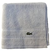 Lacoste Croc Hand Towel, One Size, Micro Chip