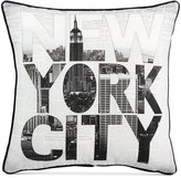 Graham & Brown NY Type Pillow