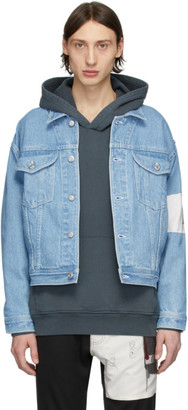 Enfants Riches Deprimes Blue Arcade Denim Jacket