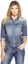 GUESS Denim Shirt in Medium Wash