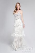 Terani Evening - Stunning Beaded Sweetheart Polyester Column Dress 1712E3251