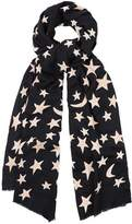 Lily & Lionel Bella Scarf in Navy and Pink