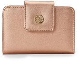Adrienne Vittadini Rose Gold French Purse Wallet