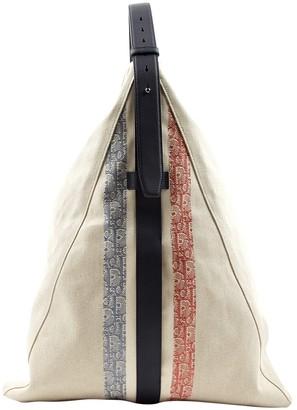 Christian Dior Beige Cloth Bags