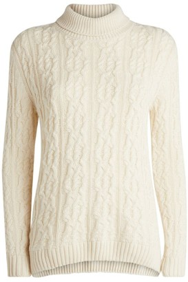 Barbour Burne Cable-Knit Rollneck Sweater