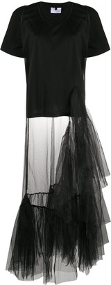 Alchemy tulle-layered T-shirt