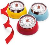 Zassenhaus Red Retro Magnetic Kitchen Timer