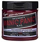 Manic Panic Semi-Permament Haircolor Rock N Roll Red 4oz (2 Pack)