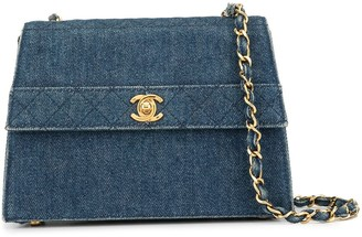 Chanel Pre-Owned 1990's quilted chain shoulder bag