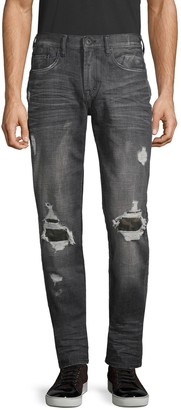 PRPS Distressed Slim Tapered-Fit Jeans