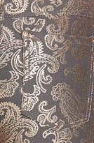 Hue Pearlized Brocade Jean Leggings