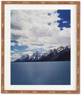 Deny Designs Leah Flores Grand Tetons X Colter Bay Bamboo Framed Wall Art