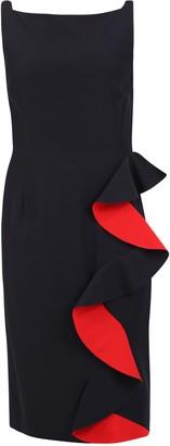 Alexander McQueen Ruched Dress
