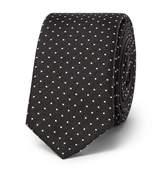 Dolce & Gabbana 4.5cm Polka-Dot Silk Tie