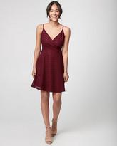 Le Château Lace Wrap-Like Dress