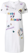 Kenzo I Love You Rainbow T-shirt dress