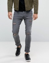 Brave Soul Vitage Wash Skinny Jeans