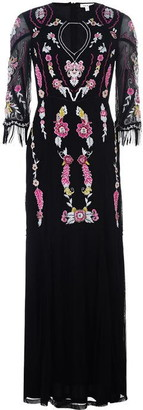 Frock and Frill Multi Embroidered Dress