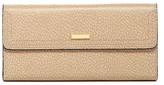 Lodis Steph Lock & Key Leather Checkbook Clutch Wallet