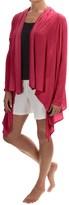 Calida Swetlana Open-Front Lounge Top - Stretch Modal-Wool, Long Sleeve (For Women)